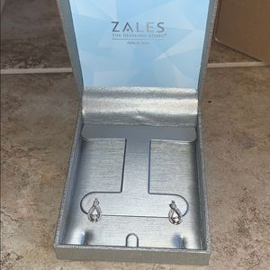 zales diamond drop earrings